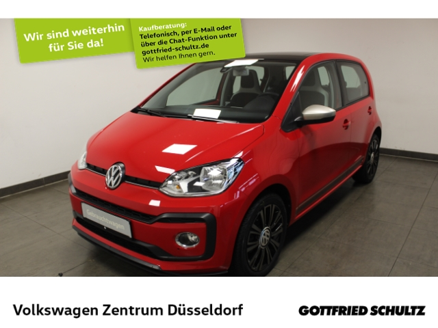 Volkswagen up! high *SHZ*PDC*GRA*FSE*maps + more*Alu*, Jahr 2017, Benzin