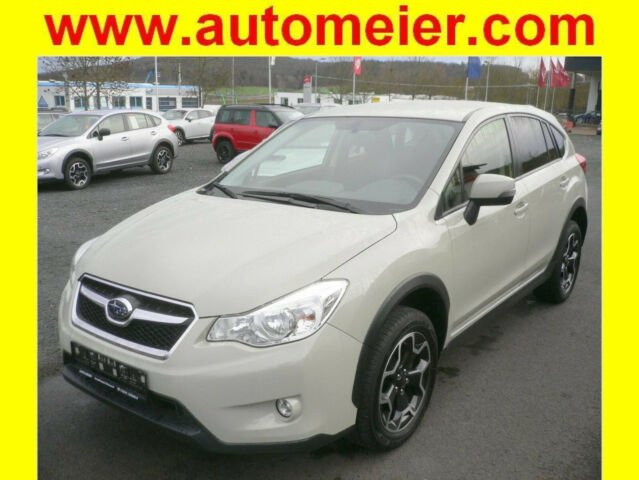 Subaru XV 1.6i Comfort (Qualitäts-Gebrauchtwagen), Jahr 2014, petrol