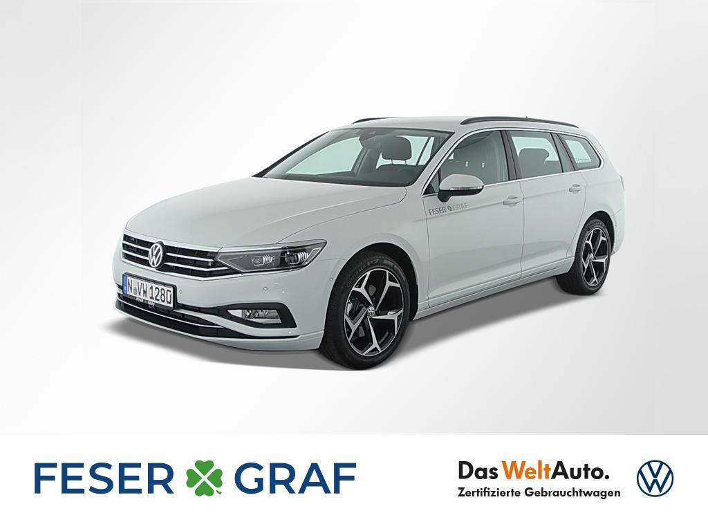 Volkswagen Passat Business 2,0 DSG Park-Assist Alu-18`, Jahr 2020, Benzin
