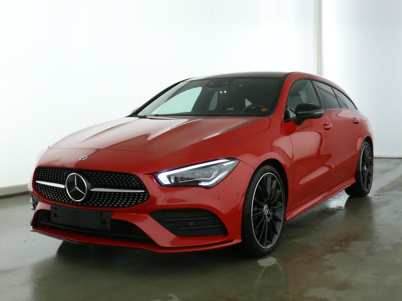 Mercedes-Benz CLA 250 Shooting Brake AMG+Burmester+Fahrassist., Jahr 2019, Benzin