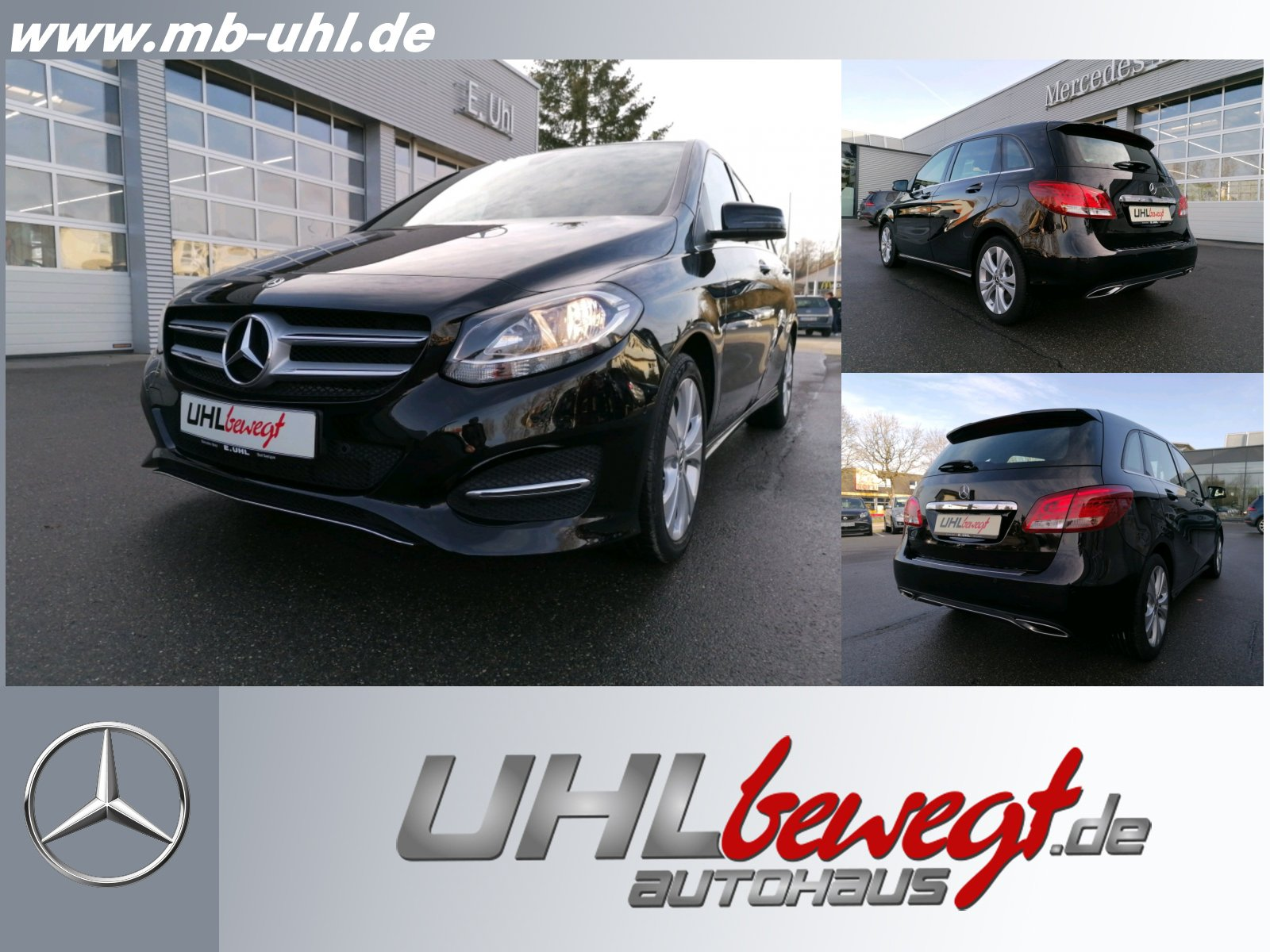 Mercedes-Benz B 220 d Urban/Navi/Kamera/Autom./AHK/Klima/Telefon, Jahr 2017, Diesel