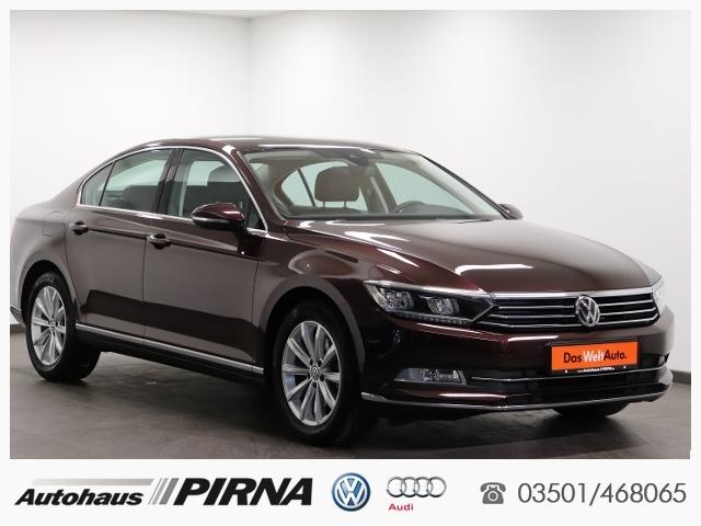 Volkswagen Passat 1.4 TSI Highline KLIMA LED NAVI ALU, Jahr 2016, Benzin