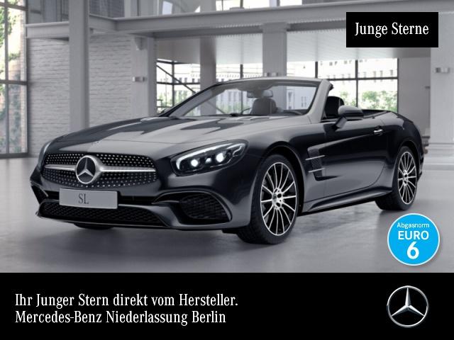 Mercedes-Benz SL 500 AMG Pano Distr+ COMAND ILS LED Sitzklima 9G, Jahr 2019, Benzin