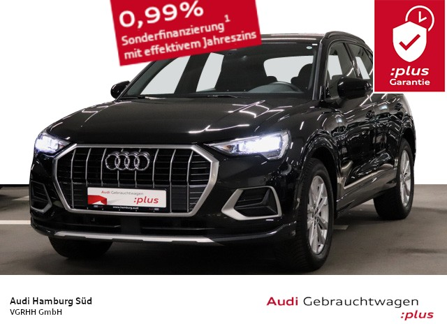 Audi Q3 35 TFSI advanced S tronic NAVI-PLUS/VIRTUAL/LEDER, Jahr 2020, Benzin
