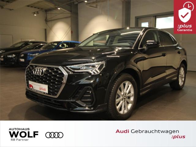 Audi Q3 Sportback 35 TFSI LED ACC AHK DAB Leder Navi+, Jahr 2019, Benzin