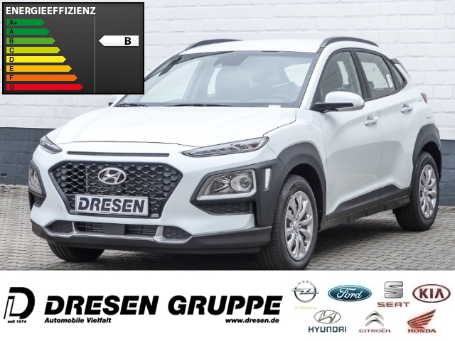 Hyundai Kona Select 2WD 1.0 T-GDI Klima/Spurhalteassistent/Bluetooth, Jahr 2018, Benzin