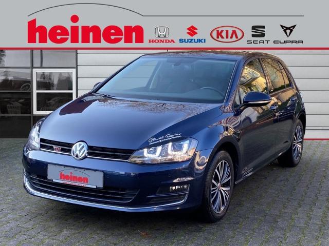 Volkswagen Golf VII 2.0 TDI ALLSTAR NAVI LICHT & REGENSENSOR, Jahr 2016, Diesel