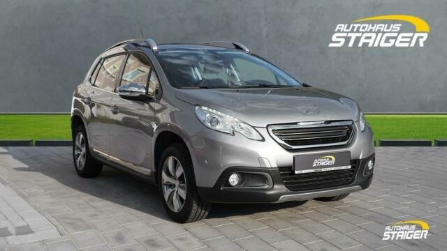 Peugeot 2008 1.2 Allure+Sitzheizung+Navi+Klimaautomatik+, Jahr 2015, Benzin