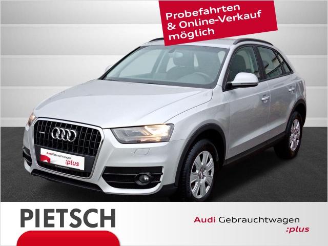 Audi Q3 2.0 TDI quattro-AHK GRA Navi PDC Nichtraucher, Jahr 2014, Diesel