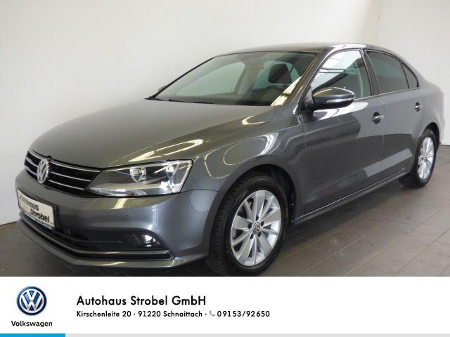 Volkswagen Jetta 1.2 TSI BMT Parkp. Bluet. Sitzh. Start/Stop Klima ISOFIX USB AUX-IN Nebel, Jahr 2015, Benzin