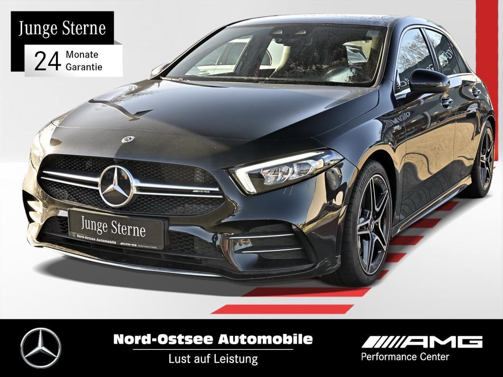 Mercedes-Benz A 35 AMG 4M Navi Pano PDC LED Sitzheizung Telef., Jahr 2019, Benzin