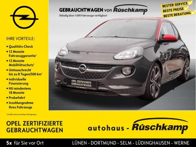 Opel Adam S 1.4 Turbo, Sitzheizung, Klima, LM, PDC, Jahr 2015, Benzin