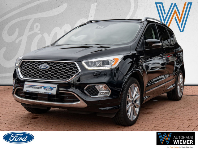 Ford Kuga 2.0l TDCi Vignale 4x4 Automatik Navi Xenon, Jahr 2017, Diesel