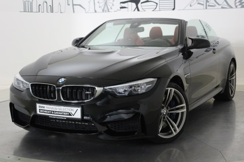 BMW M4 Cabrio Head-Up HK HiFi DAB M DKG LED RTTI, Jahr 2019, Benzin