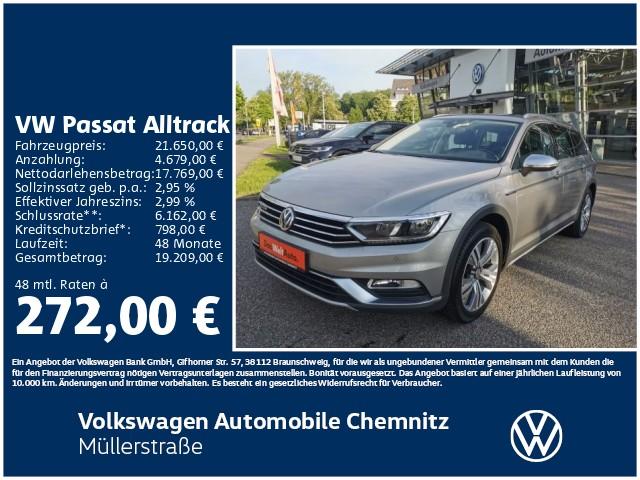 Volkswagen Passat Alltrack 4M 2.0TDI Business AHZV ErgoSitz, Jahr 2016, Diesel