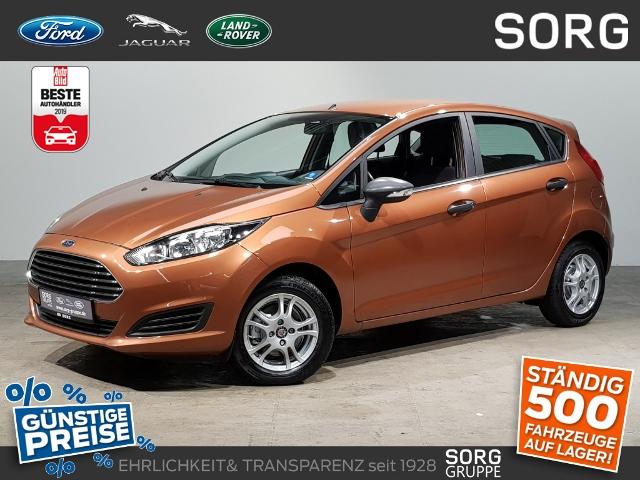 Ford Fiesta 1.25 Ambiente 5-türig*KLIMA*, Jahr 2015, Benzin