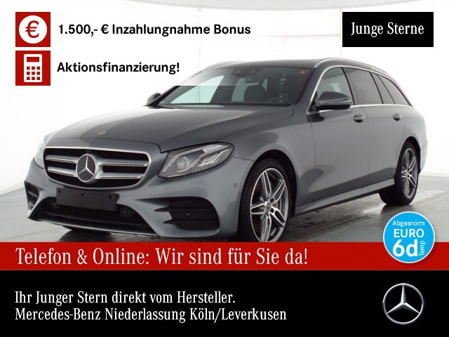 Mercedes-Benz E 450 T 4M AMG Fahrass.Wide.COM.SHD.360°.get.Gl, Jahr 2019, Benzin