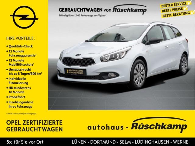 Kia Cee'd Sportswagon Edition 7 1.4 CVVT Multif.Lenkrad Klima CD AUX USB MP3 ESP Seitenairb., Jahr 2014, Benzin