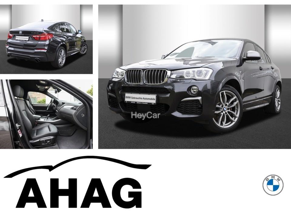 BMW X4 M40I A (M-Sportpaket HeadUp Kurvenlicht Xenon Bluetooth), Jahr 2016, Benzin