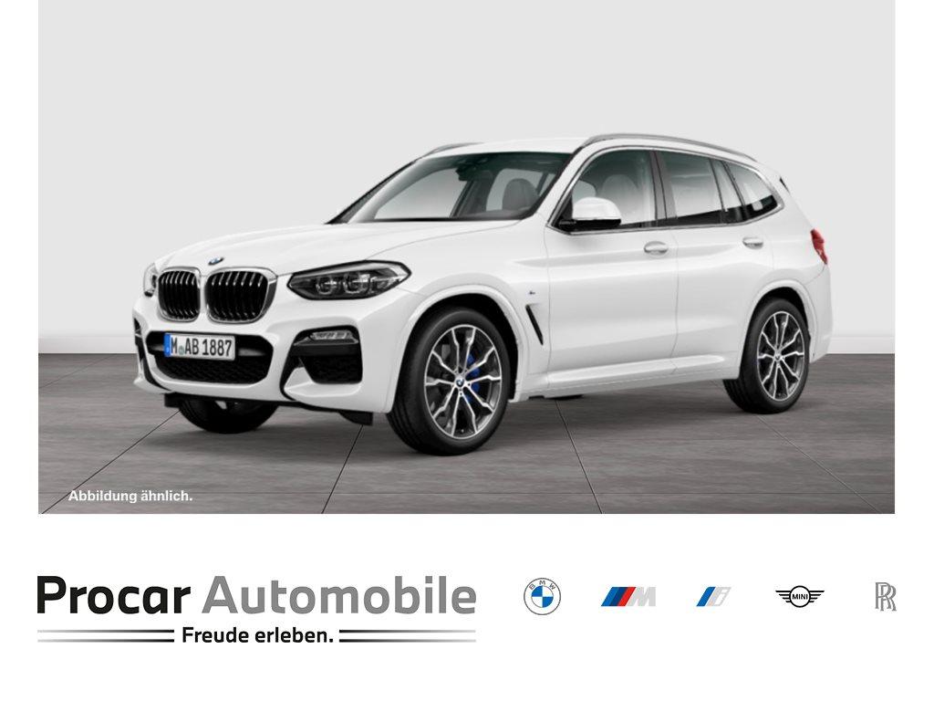 BMW X3 xDrive30i M-Sport Navi LED Shz AHK PDCv+h 20, Jahr 2020, Benzin