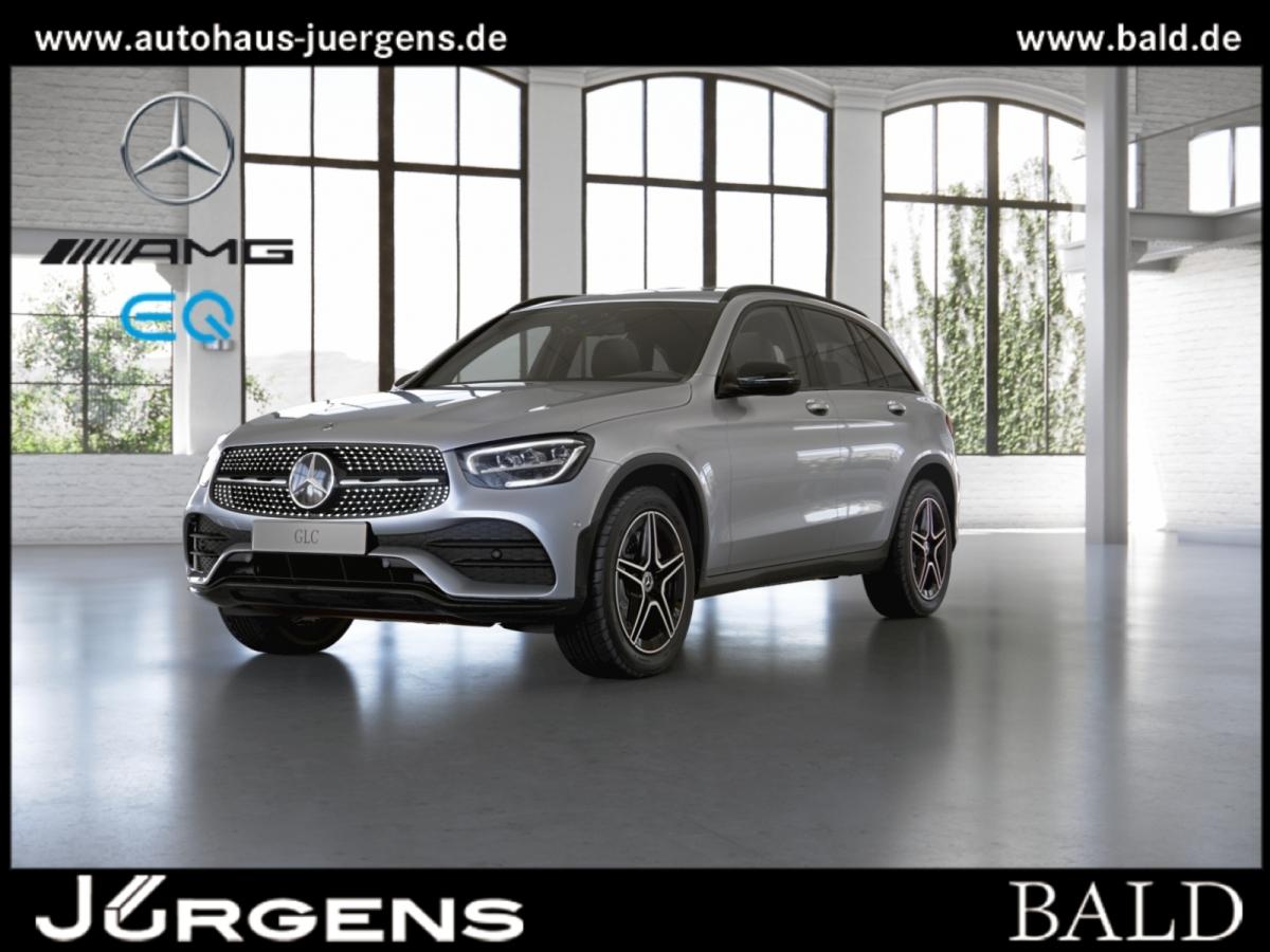 Mercedes-Benz GLC 400 d 4M AMG+Night+LED+AHK+Kamera+PDC, Jahr 2021, Diesel