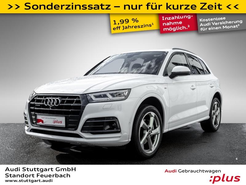 Audi Q5 Sport 2.0TFSI quattro S line Pano AHK VC 360°, Jahr 2017, Benzin