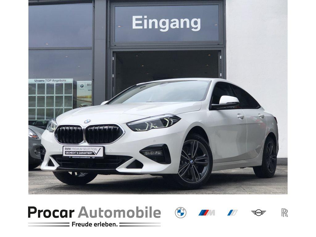 BMW 218i Gran Coupe Sport Line Live Cockpit Plus HiFi, Jahr 2020, Benzin