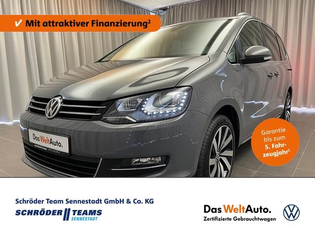 Volkswagen Sharan 2.0 TDI DSG 4 Motion Highline 7-Sitzer,AHK,Standheizung,Bi-Xenon, Jahr 2019, Diesel