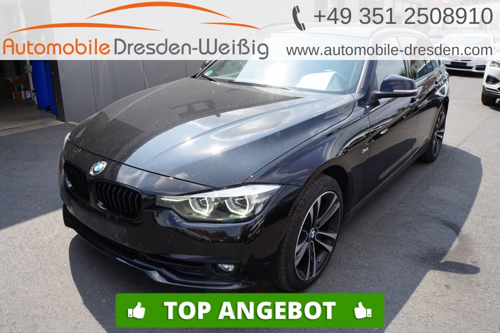 BMW 318 d Touring Sport Line Shadow*Navi*HiFi*DAB*, Jahr 2018, Diesel