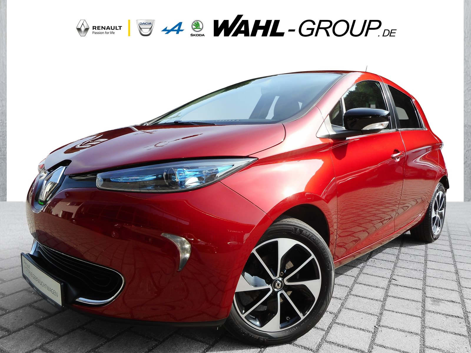 Renault Zoe Z.E. 40 Intens zzgl. Batteriemiete, Jahr 2018, Elektro