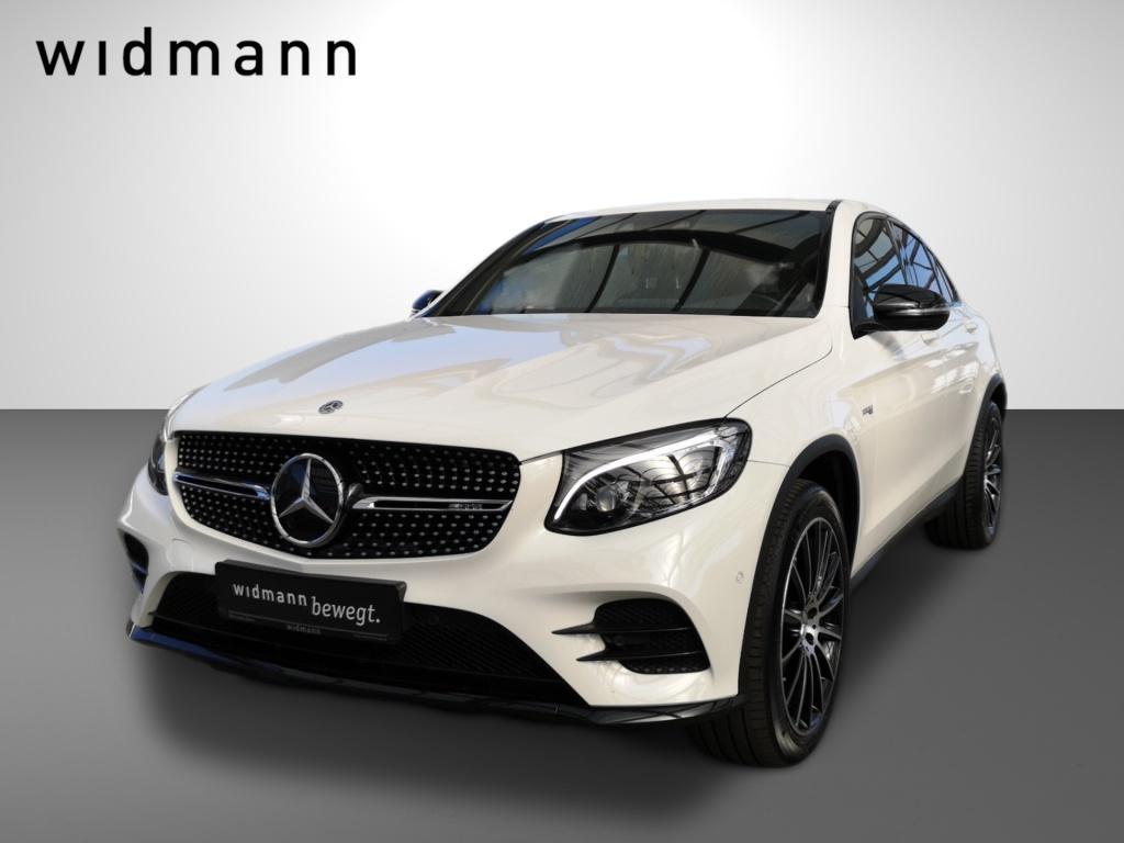Mercedes-Benz GLC 43 AMG 4M Coupé Burmester*Comand*Fahrassist., Jahr 2018, Benzin
