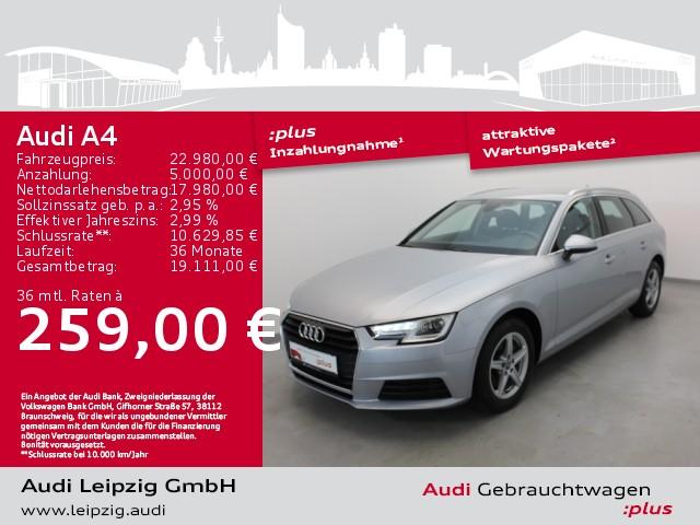 Audi A4 Avant 2.0 TDI *S tronic*Xenon*Navi*PDC*SHZ*, Jahr 2018, Diesel