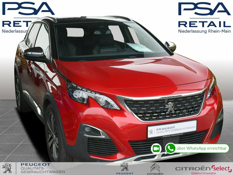 Peugeot 3008 BlueHDi 180 S&S EAT6 GT *AGR-SITZE*Pano*Kamera 360°*, Jahr 2017, Diesel