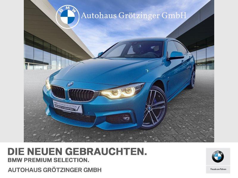 BMW 418d M SPORTPAKET+HEAD-UP+NAVI+KOMFORTZUGANG, Jahr 2017, Diesel