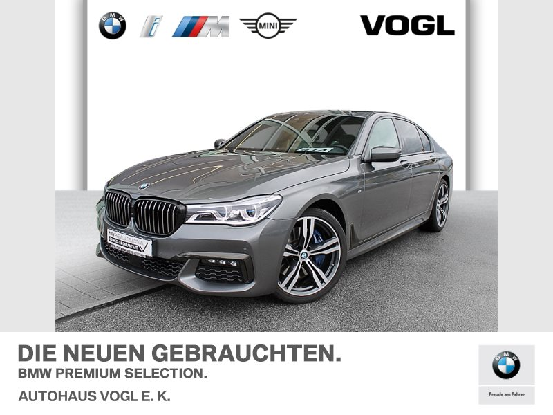 BMW 740d xDrive Limousine M Sportpaket Head-Up DAB, Jahr 2017, Diesel