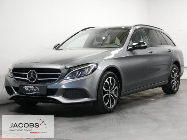 Mercedes-Benz C 400 4Matic Avantgarde Navi,LED,AHK,SD Bluetooth, Jahr 2018, Benzin