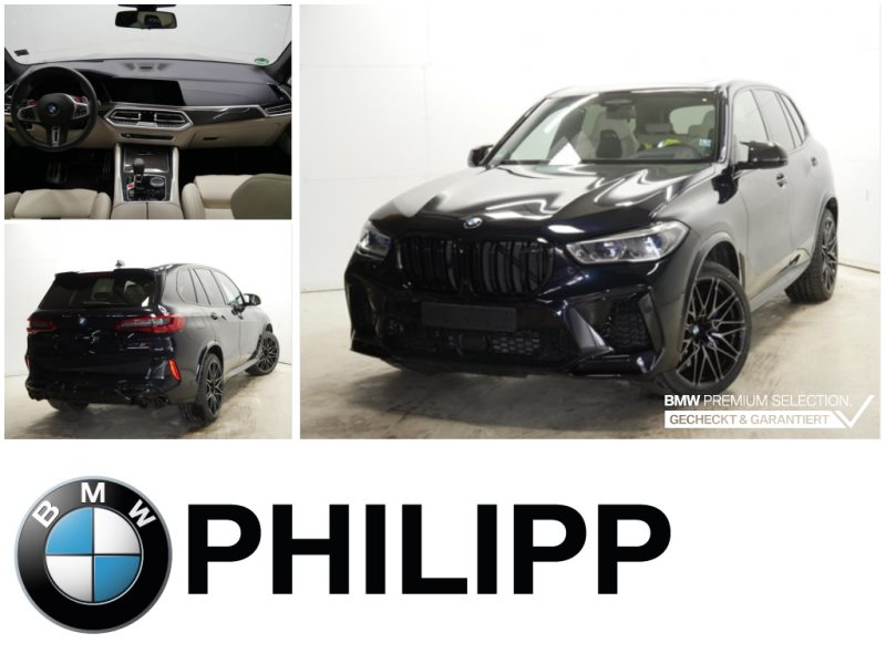 BMW X5 M Competition B&W SkyTV-Fond Massage LaserAHK, Jahr 2020, Benzin