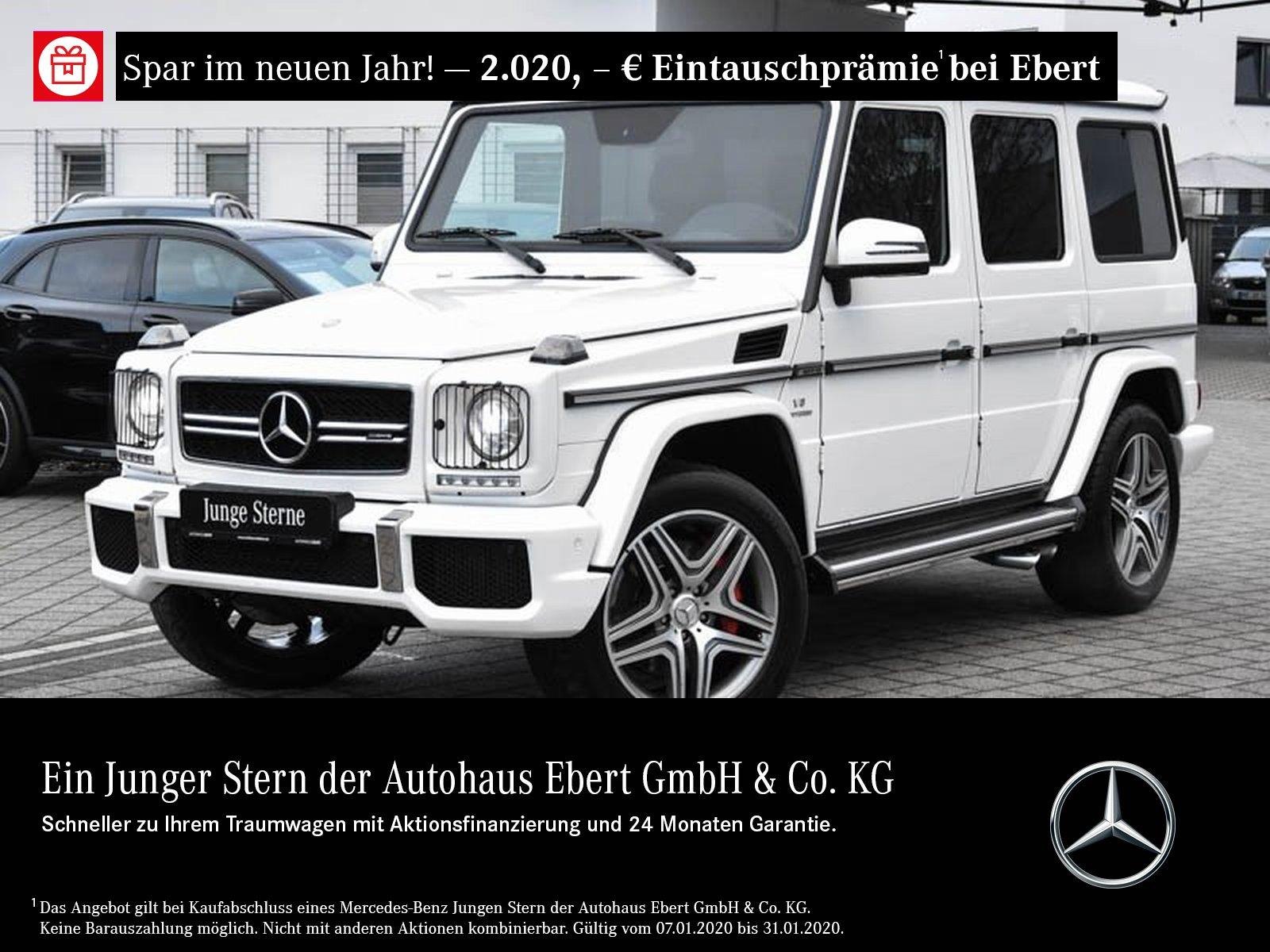Mercedes-Benz G 63 AMG COMAND+STDHZG+BI-XENON+ESHD+KAMERA, Jahr 2016, petrol
