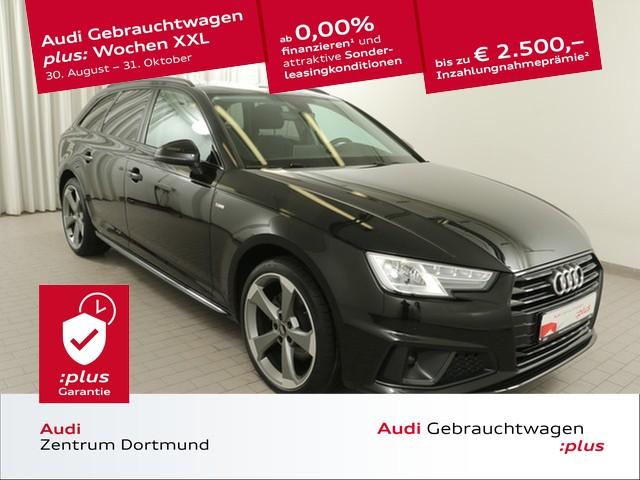 Audi A4 Avant 40TFSI S line/Rotor/BlackOptik/eSitze, Jahr 2019, Benzin