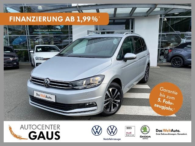 Volkswagen Touran United 1.5 TSI Navi AHK Standhzg., Jahr 2020, Benzin