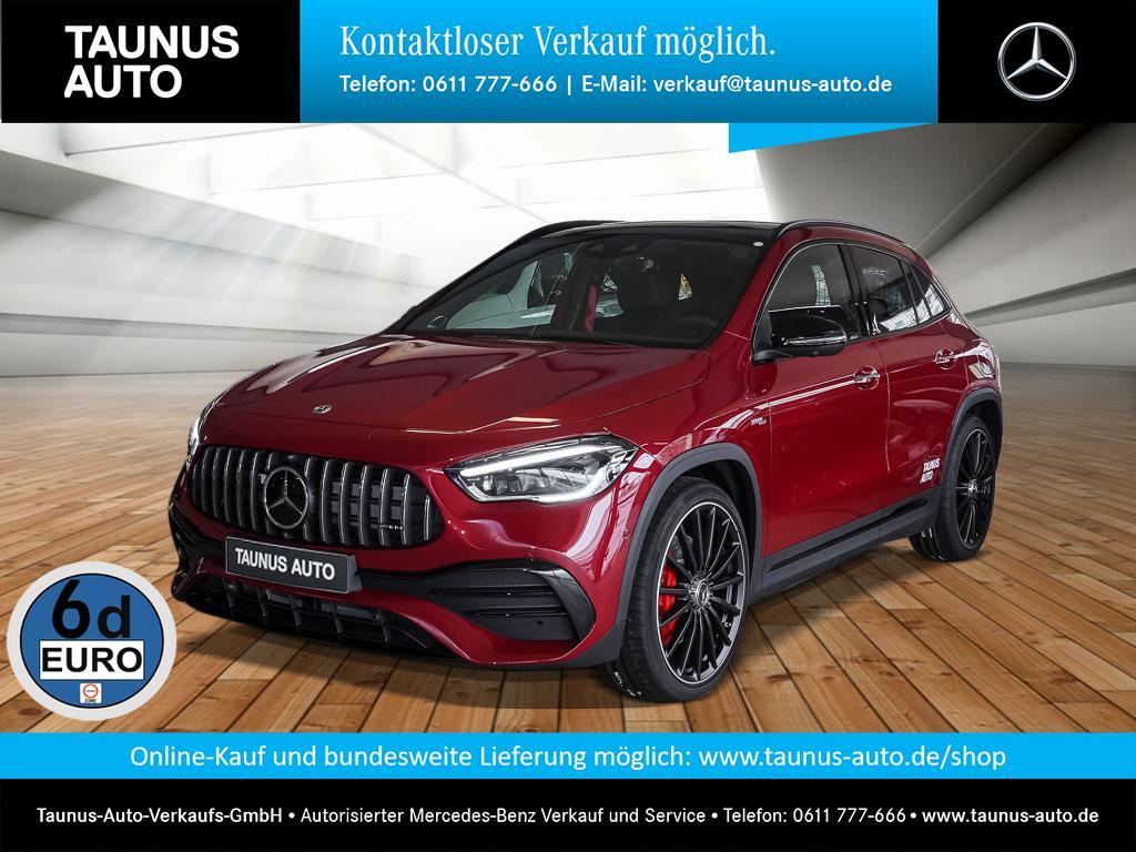 Mercedes-Benz GLA 35 AMG 4M PANO NIGHT DISTR. MBUX UPE 72200,-, Jahr 2020, Benzin