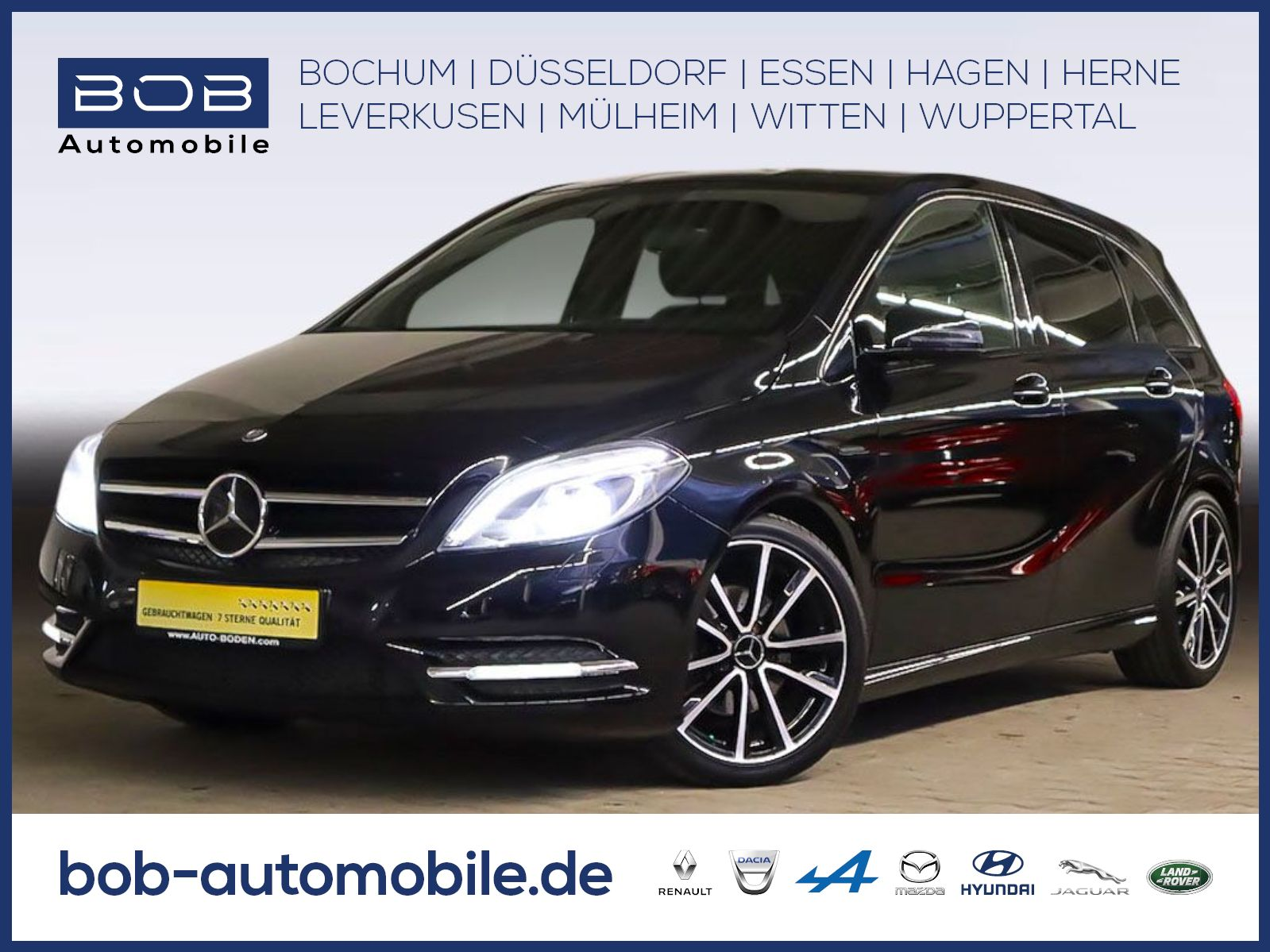 Mercedes-Benz B 180 BlueEFFICIENCY Edit. 1 XENON NAVI SHZ PDC, Jahr 2013, Benzin