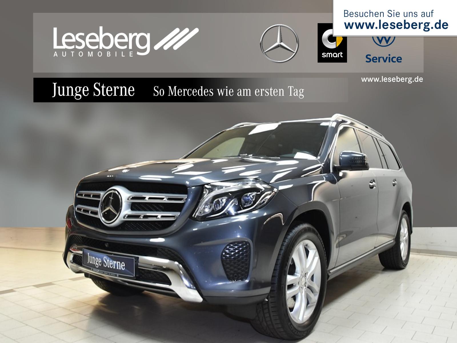 Mercedes-Benz GLS 500 4M Distr/SHD/360°/Fond Entertaiment/AHK, Jahr 2016, petrol