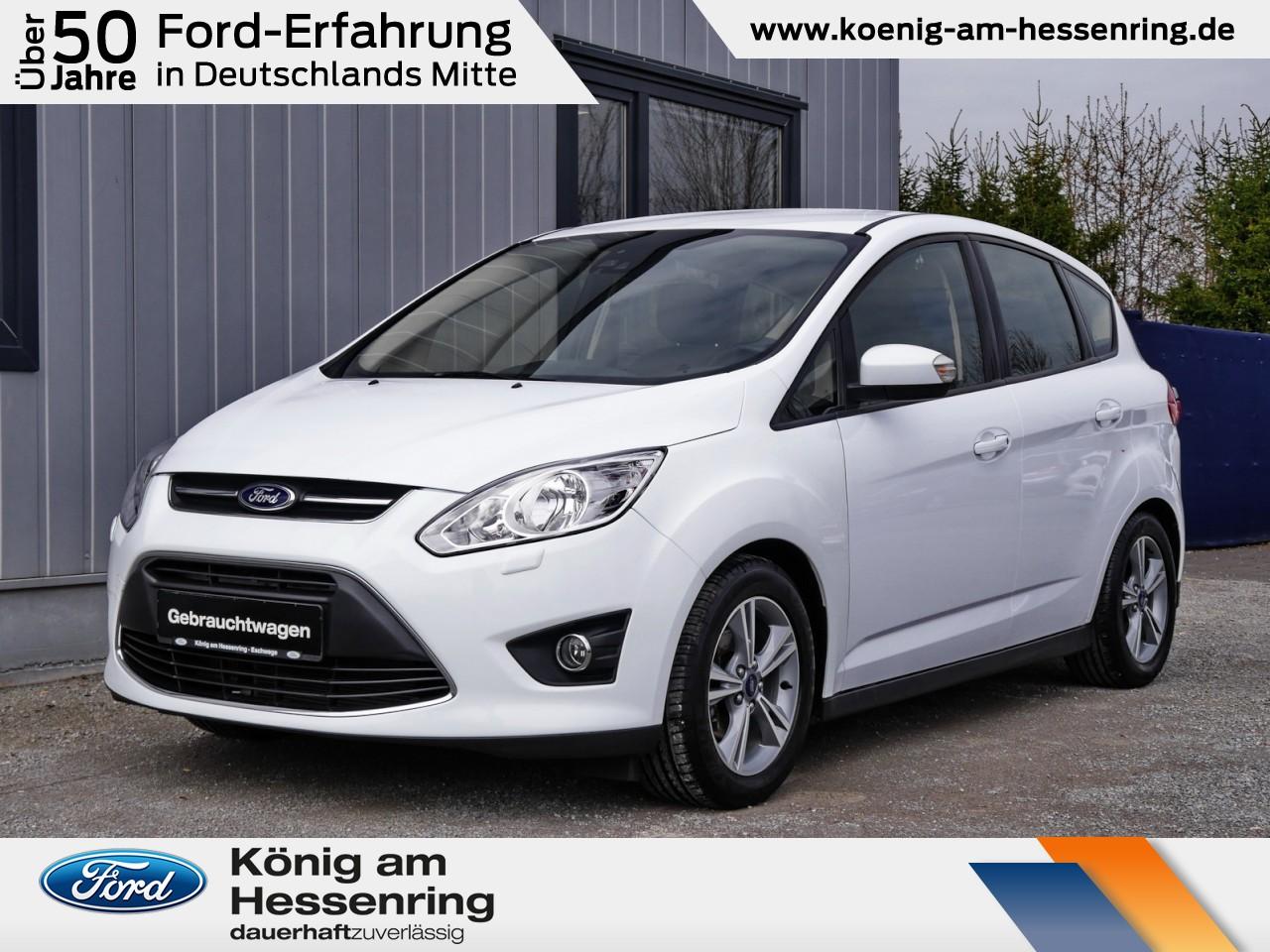 Ford C-MAX SYNC 1.0 EB Klimaaut.+Alu+AHK+Sitzheizung, Jahr 2014, Benzin