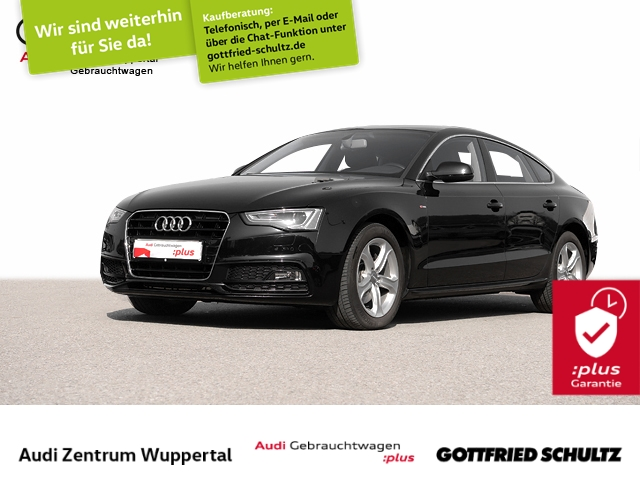 Audi A5 Sportback 2.0TFSI S-LINE LEDER CONNECT XEN NAV, Jahr 2015, Benzin
