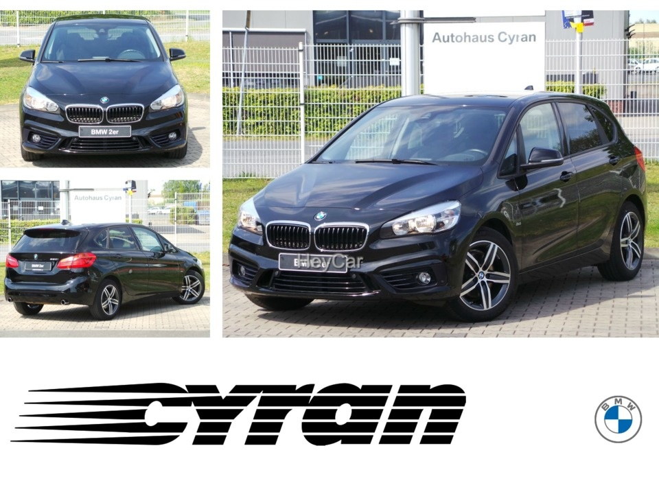 BMW 220 Active Tourer AT Sport Line Navi PDC AHK HK-Soundsys., Jahr 2016, Benzin