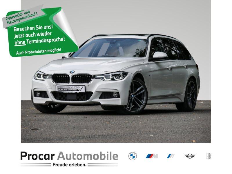 BMW 325d NAVI+LEDER+PANO+ADAPTIVE-LED+19ZOLL+HK+DAB+, Jahr 2018, Diesel