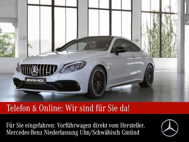 Mercedes-Benz C 63 S Coupé Sportpaket Navi LED Vollleder Klima, Jahr 2020, Benzin