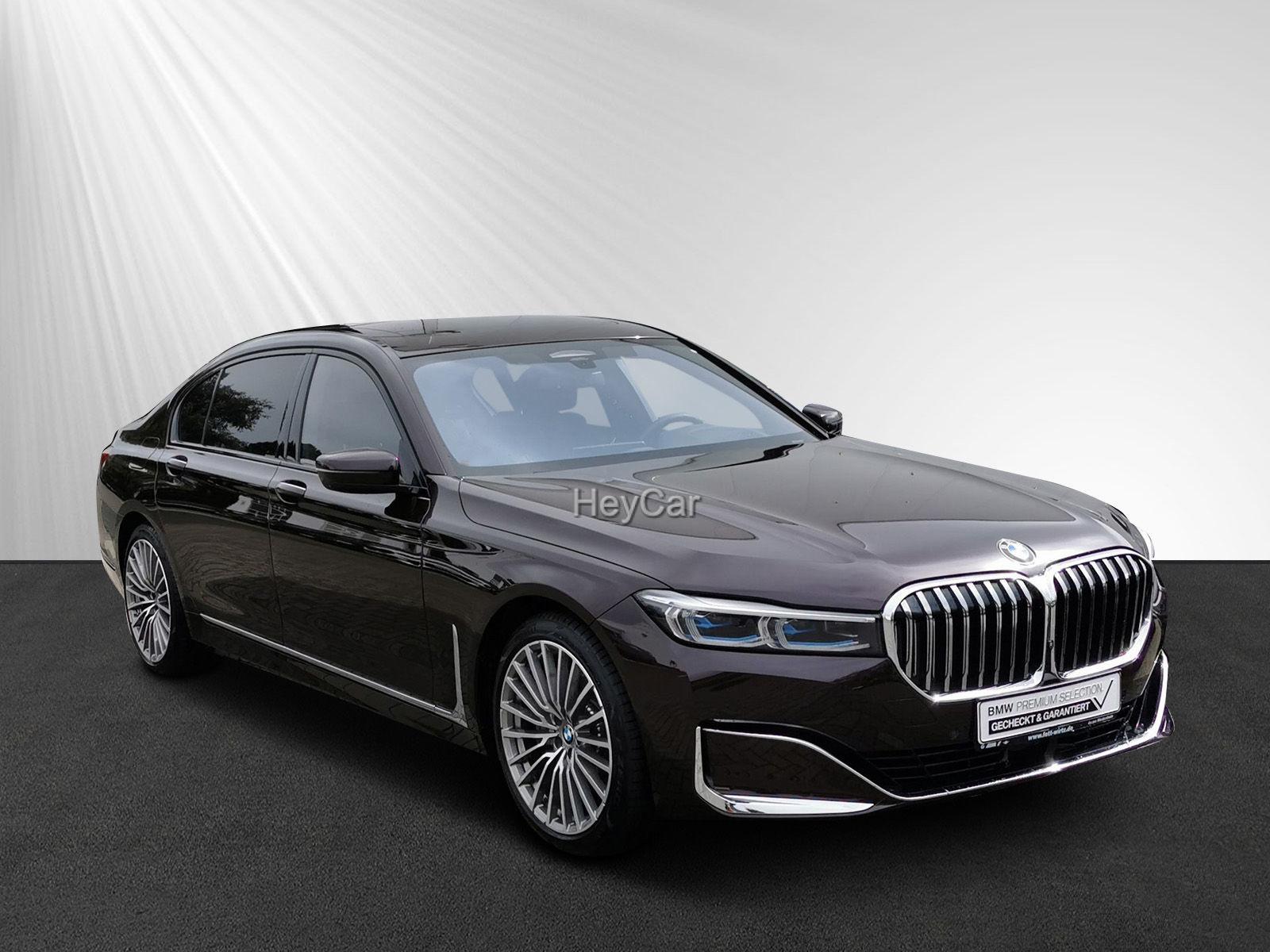BMW 745Le Laser TV+ Leas. ab. 885,- br. o. Anz., Jahr 2019, Hybrid