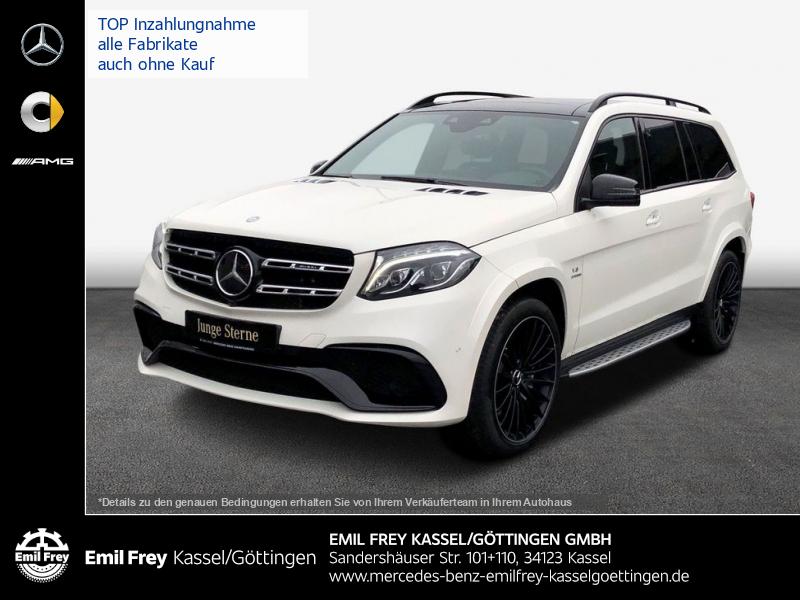 Mercedes-Benz GLS 63 AMG 4M+Driver's+PANO+BeoSound+TV+NIght, Jahr 2016, Benzin